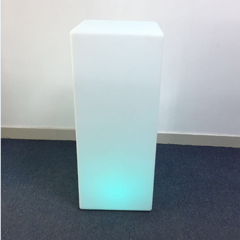 LED Cocktail Table with Flash Controls & 16 Different Colors