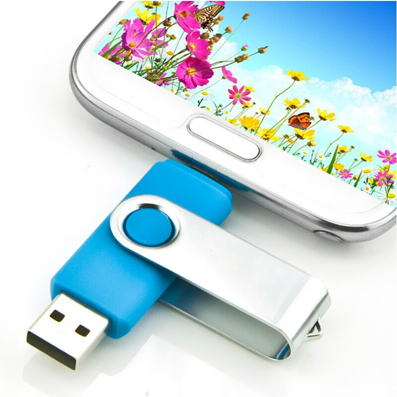 Freeshipping 64GB New Mobile Phone USB Flash Drive Computer OTG USB Flash Drive Pen Drive USB Stick External Storage