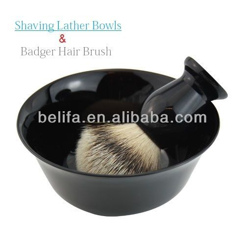 Shaving Brush With Blow