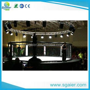 aluminium verlichting ronde truss diameter 9 m cirkel truss voor boksen wedstrijd tentoonstelling ronde