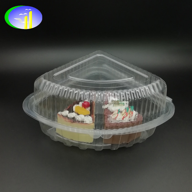 Factory-direct gemaakt PS PET PVC clear driehoek plastic kaas container