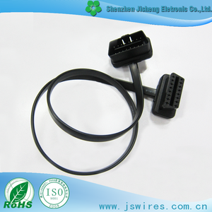 OBD 16P Cable Male to Female OBD 16P OBD Flat Cable