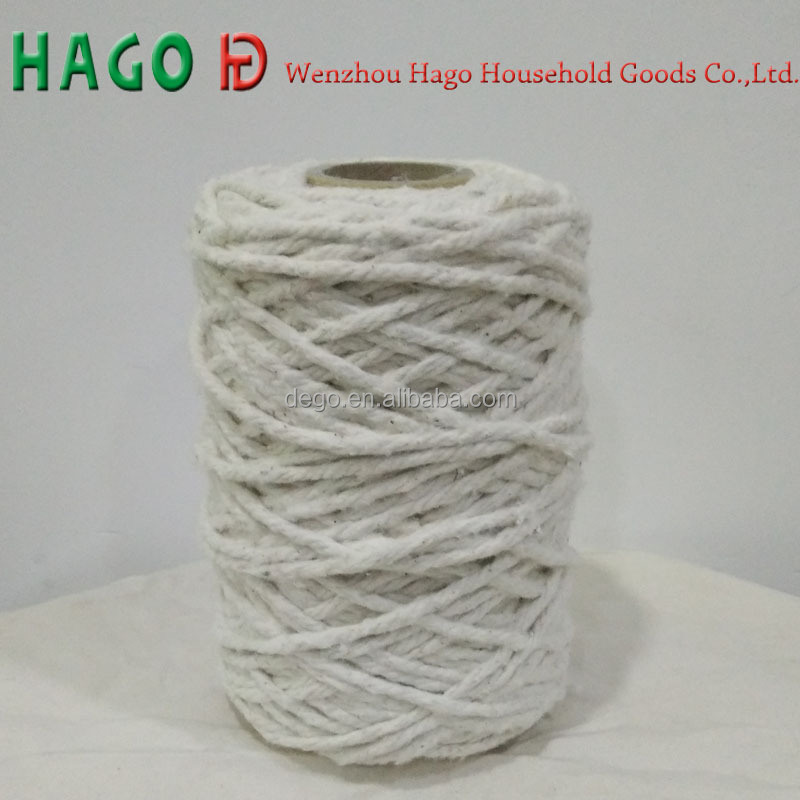Chinese factory exported OE carded good quality recyled 100 cotton yarn for mop