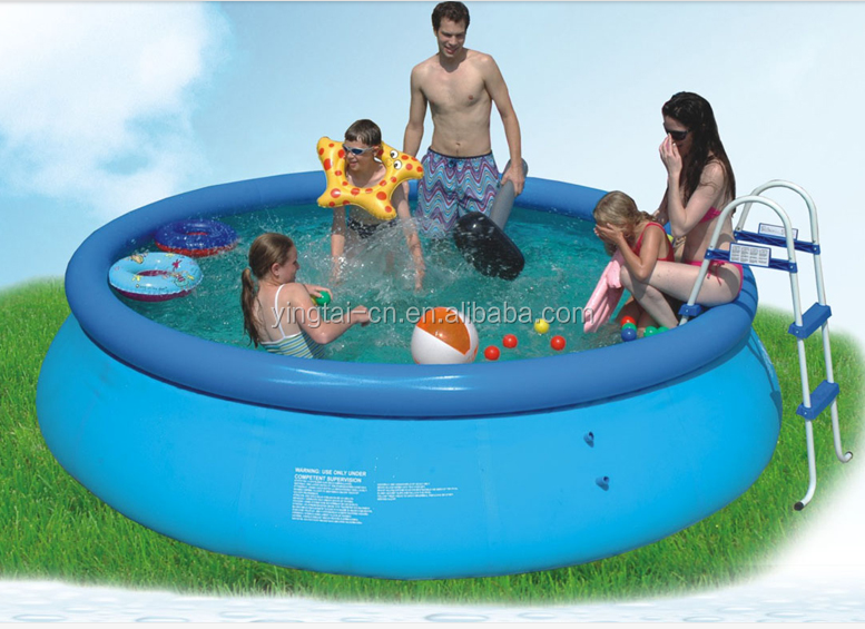 family used pvc swimming pool inflatable adult swimming pool for sale