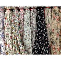 "58"" POLY 75D PRINT WOVEN CHIFFON FABRICS FOR BLOUSE/DRESS/SHIRTING"