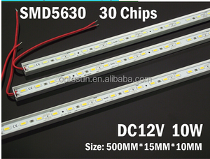 Waterproof 5630/5730 LED Rigid Strip 30leds/m led rigid strip light bar