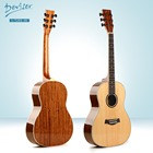 Small Solid Spruce Walnut Wood Baby Acoustic Guitar for Children