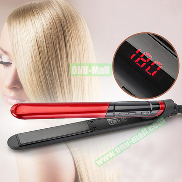 Styling Tools Hair Flat Iron Straightening Professional Hair Straightener Curler