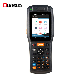 Waterproof PDA3505 Payment Device Rugged 3G/4G Android POS Terminal with Barcode Scanner