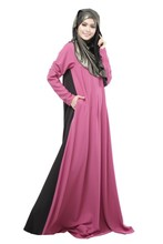 Fashion best Selling muslim hijab Iran wedding dress