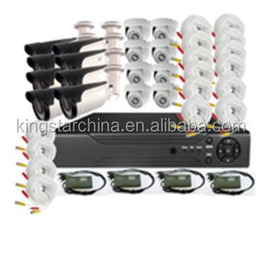 1080P HD Camera kits 16CH. Ahd dvr kit security cctv camera system with bullet outdoor 1080p 2mp hd camera system