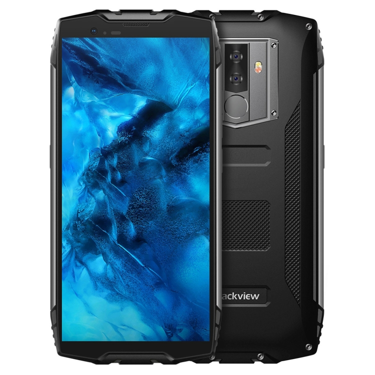 Drop Shipping Original Blackview BV6800 Pro Mobile Phones 4GB+64GB 5.7 inch 6580mAh Battery IP68 Waterproof Rugged Phone