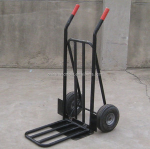 two pneumatic wheel extra tube plate hydraulic hand trolley price