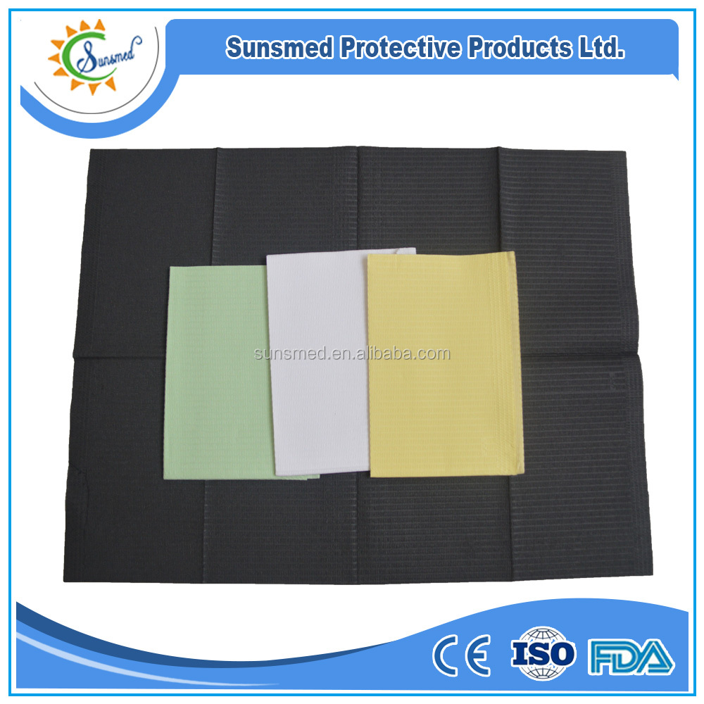 Sunsmed factory dental products disposable 2-ply dental towels