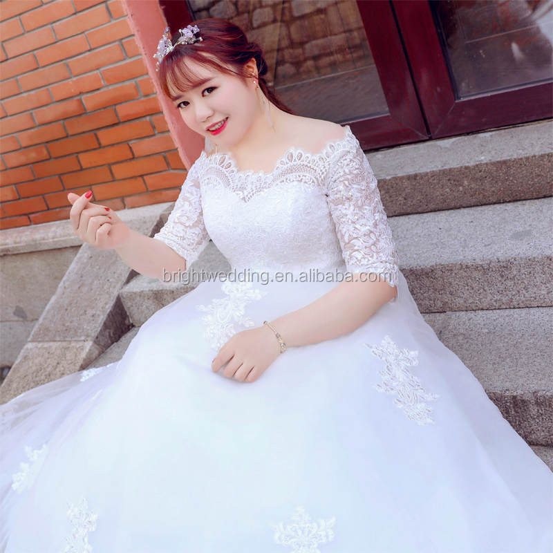 Arabic Plus Size Wedding Dresses For Fat Woman Bridal African Custom Made Dress Stani Product On Alibaba