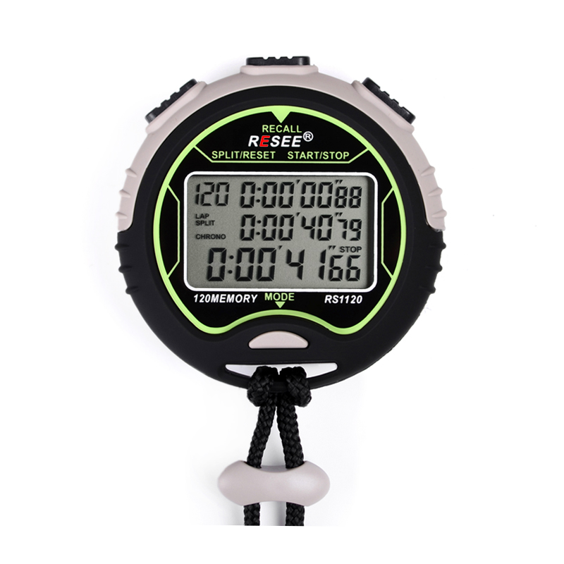 resee high quality sports stopwatch shot timer