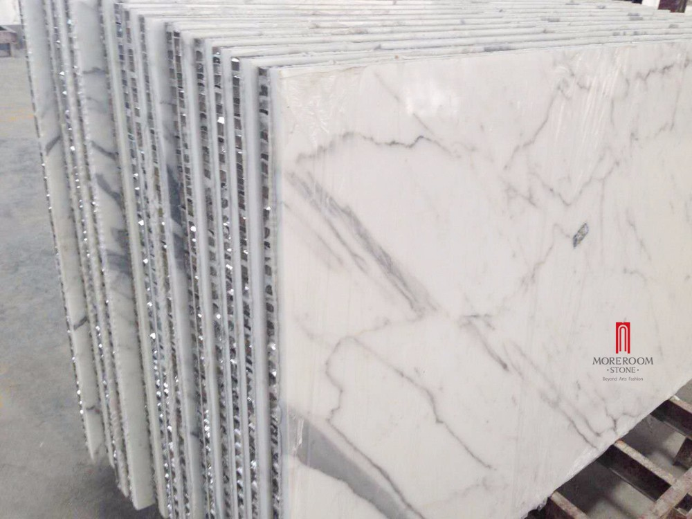 Italy Aluminum Honeycomb Backed Bianco Carrara Statuario