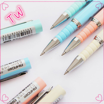 Beautiful Best Quality Stationery Items For Gift Customized Logo Indelible Ink Pens Colorful Plastic