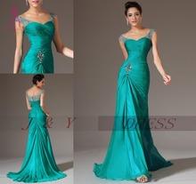 Šifónové šaty s V výstrihom a A linií