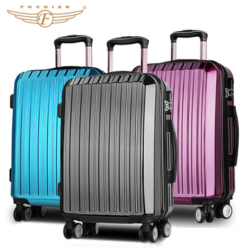 Hard S Fashion Travel Polycarbonate Polo Luggage Trolley Bags