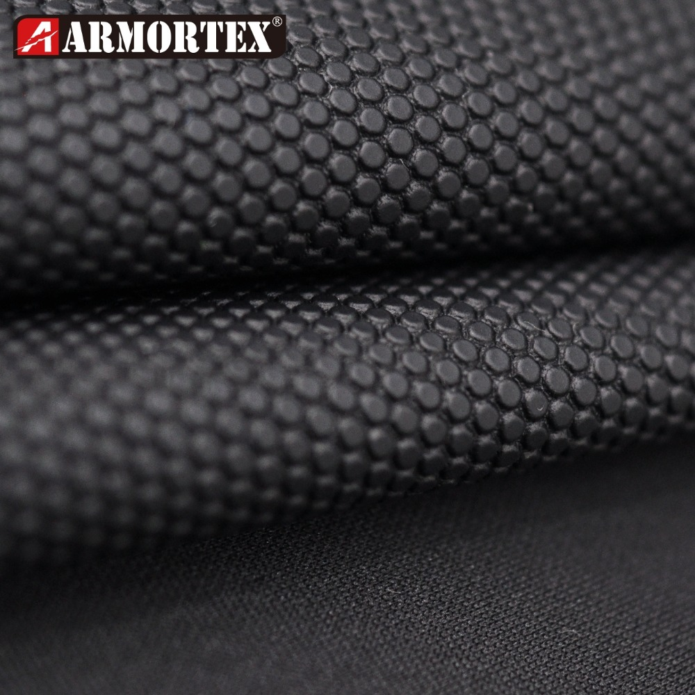 PU Coated Abrasion Resistant Anti Slip Fabric for Industrial apparel Gloves