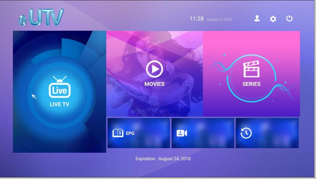IPTV Pannello Rivenditore USA REGNO UNITO Arabo Canali Mag Box 4 K IPTV