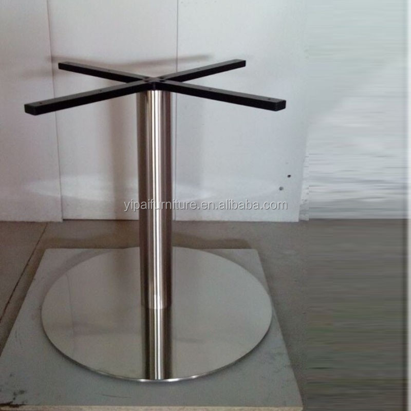 201 Stainless Steel Table Base Rust Free Marble Table Bar Height Table Legs  For Sale F17A