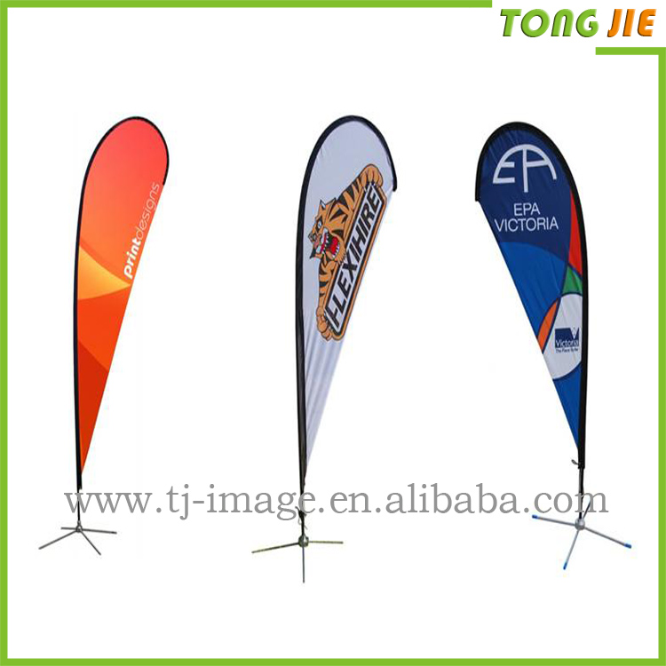 2016 popular wonderful advertising teardrop banner