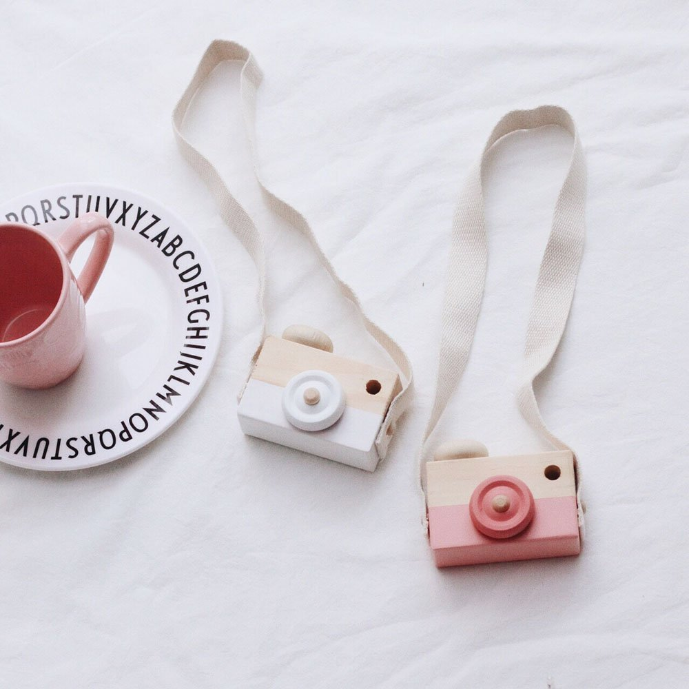 Buy Portable Instagram Diy Mini Wood Camera Wooden Baby Photo Booth