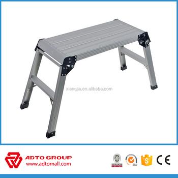 En131 Aluminum Step Stool Aluminum Working Plat Form Car
