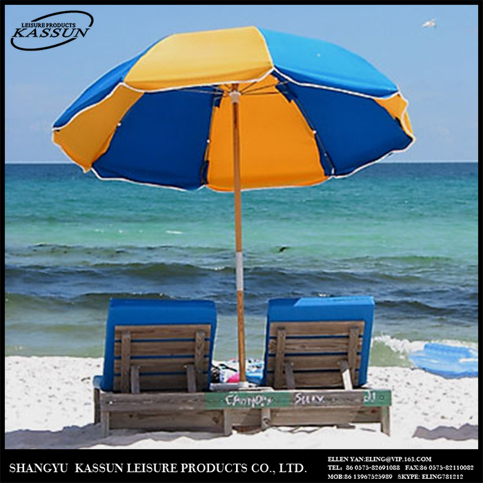 Competitive price custom printed promotional beach chair with umbrella