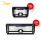 66/136LED Solar Powered Waterproof Lights Outdoor Garden Path Fence Wall Lamp With Motion Sensor