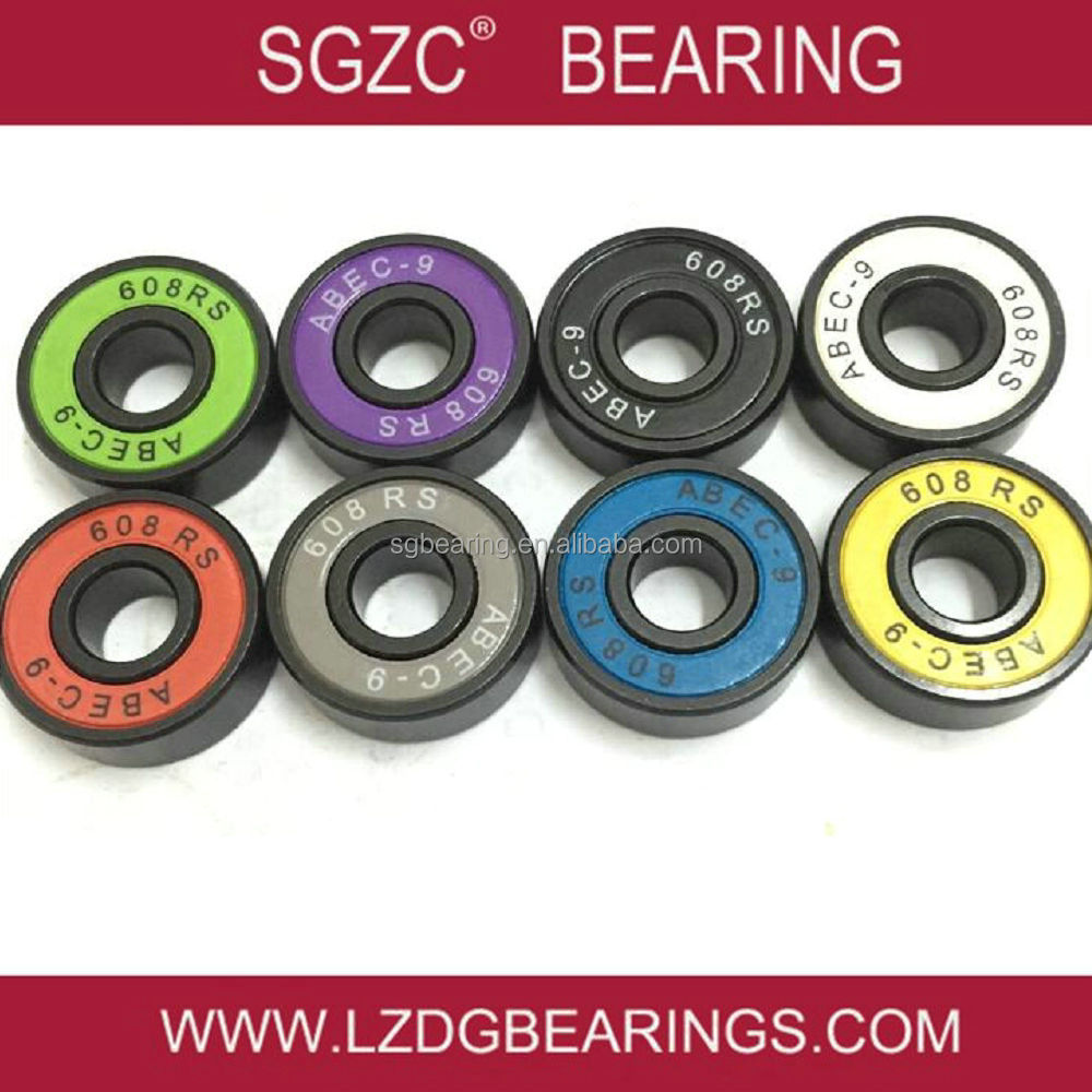 China factory OEM brand roller skate bearing 608z with spacers for electric skateboard