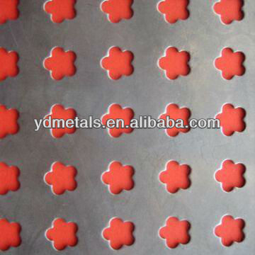 Standard Round Hole Perforated Metal/ Architectural/ Decorative/ Constructional aluminum perforated metal