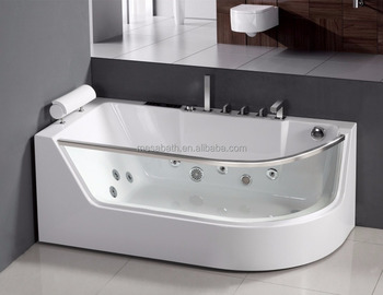 2017 New Oasis Freestanding Whirlpool Massage Bath Tub With Pillow