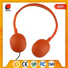 ISO 9001 Factory custom wholesale handmade stuffed 50mm headphone speaker
