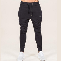 Cheap Fitted GYM Sports Men's Jogger Pants Custom Printing Track Pants