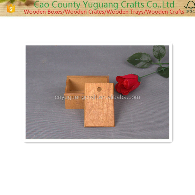 2016 Handmade Natural practical and nice Wooden Gift Box,Wooden Tea Box,Wooden jewel case