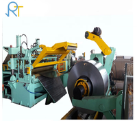 Steel Coil uncoiler, Slitting Shear and Recoiler Machine