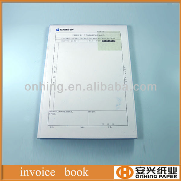 Top ranking and reasonable price invoice book