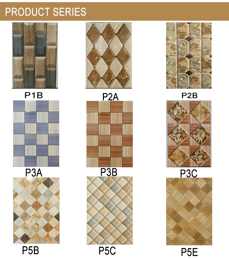 Bathroom decoration low price ceramic wall tiles (P2A)