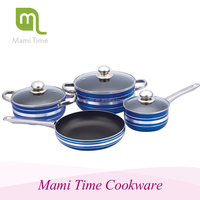 Chinese practical best quality hard anodized cookware aluminum cookware sets