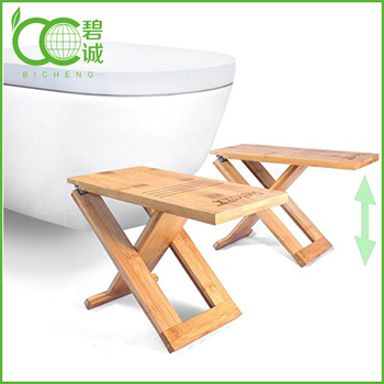 Pleasing Bamboo Portable Foldable Potty Step Stools Folding And Storable Bathroom Footstool Buy Wooden Folding Step Stool Wood Toilet Stool Bamboo And Machost Co Dining Chair Design Ideas Machostcouk