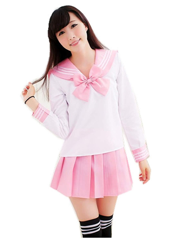15b7c771a77 Get Quotations · Lovely Japan School Uniform Students Uniform Set Sailor  Suit Cosplay Costumes
