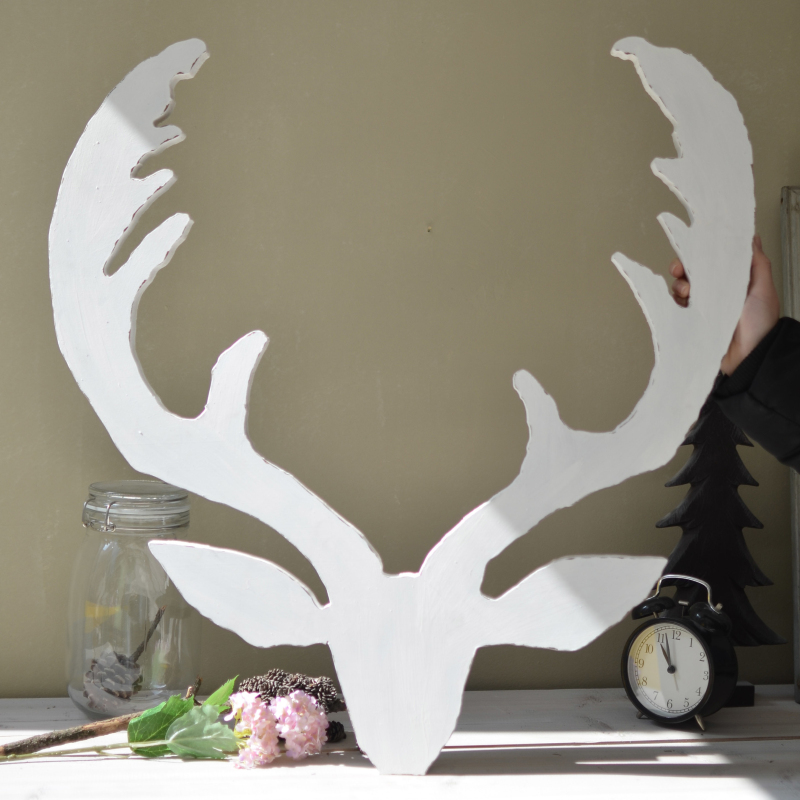 Creative Christmas <font><b>decoration</b></font> Wall deer elk head Nordic art crafts original <font><b>Italian</b></font> bars and clubs Cafe template wall hangings