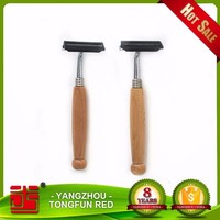Custom Shaving Brush Wooden Razors Stand Tripe Blades Safety