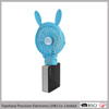 New invention table pocket clip mini cartoon fan with power bank
