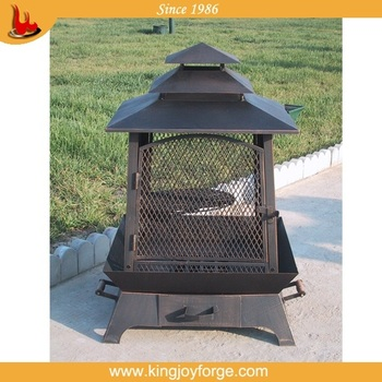Top Sale Cast Iron Chiminea Outdoor Fireplace