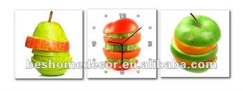 wall picture for bedroom, art canvas, modern fruit art