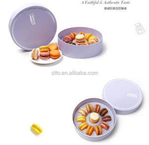 Hot sale macaron box for 11pcs or more